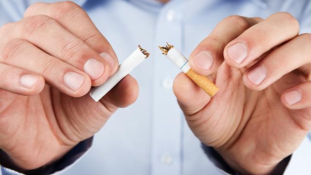 タバコは吸わない